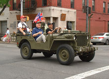 Dia nacional norueguês em Brooklyn foto de stock