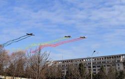Dia nacional Romênia, Bucareste, o 1º de dezembro de 2015 Foto de Stock