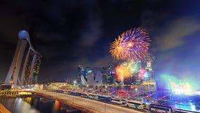 Dia nacional, Singapore Fotografia de Stock