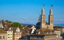 Dia nacional suíço em Zurique Imagem de Stock