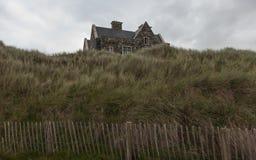 Dia nebuloso do outono no campo irlandês Imagem de Stock Royalty Free