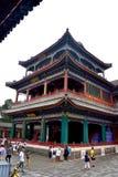 Dia nebuloso no palácio de verão, Pequim, China fotos de stock