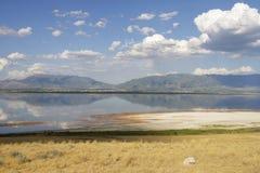 Dia no lago Foto de Stock Royalty Free