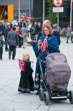 Dia norueguês da constituição Fotografia de Stock