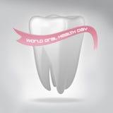 Dia oral da saúde do mundo Imagens de Stock Royalty Free