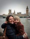 Dia para fora em Londres Fotografia de Stock