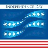 Dia patriótico do design_independence Fotos de Stock Royalty Free