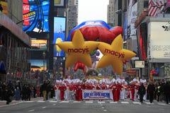 Dia Prade da acção de graças de Macy fotografia de stock royalty free