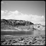 Dia's 35 die mm in digitale beelden worden gemaakt Uitstekend kijk, zwart-wit, kleur Royalty-vrije Stock Afbeeldingen