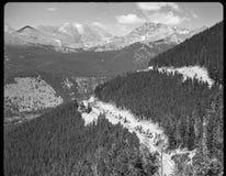 Dia's 35 die mm in digitale beelden worden gemaakt Uitstekend kijk, zwart-wit, kleur Stock Afbeelding