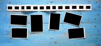 Dia's en beelden Stock Foto