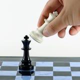Dia scacco matto Fotografia Stock