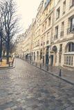 Dia sombrio em Paris Foto de Stock