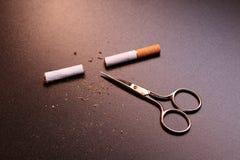 Dia in su il fumo! Fotografie Stock Libere da Diritti