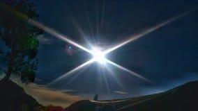 Dia suny de Sun Imagens de Stock Royalty Free