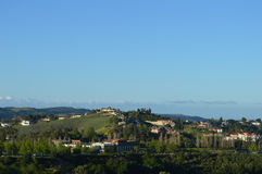 Dia típico San Gabriel Valley Fotografia de Stock Royalty Free