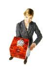 Dia un regalo 2 Fotografie Stock