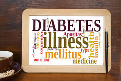 diabète Image stock