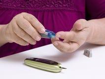 diabète Photos libres de droits