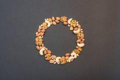 Diabète dans un symbole de cercle Photos libres de droits