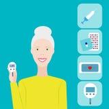 diabète Illustration de vecteur Image libre de droits