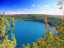 Diabła stanu Jeziorny park Wisconsin Obraz Stock
