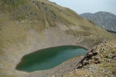 Diabła staw w Pyrenees zdjęcia royalty free