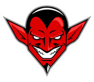 Diabeł głowa Royalty Ilustracja