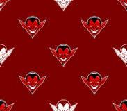Diabeł głowy wzór Ilustracji