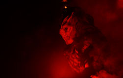 Diabeł maska Fotografia Royalty Free