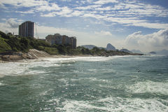 Diabeł plaża, Rio De Janeiro Obraz Stock