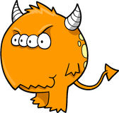 diabeł potwora wektora Zdjęcie Royalty Free