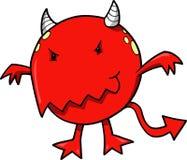 diabelska mała czerwona ilustracji