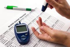 Diabet pojęcie Zdjęcia Royalty Free