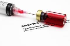 Diabete Fotografie Stock Libere da Diritti