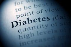 Diabete fotografie stock