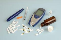 Diabetes Stockfoto