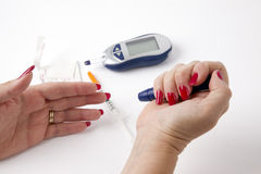 Diabetes Stockbild
