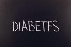 Diabetes Imagen de archivo libre de regalías