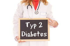 Diabetes stock images