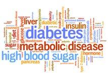 Diabetes ilustração do vetor
