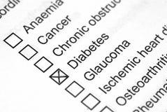 Diabetes Royalty-vrije Stock Fotografie