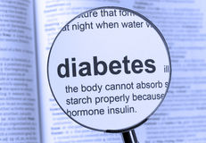 diabetes Lizenzfreie Stockbilder