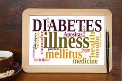 diabetes stockbild