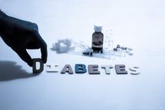 diabetes fotografía de archivo libre de regalías