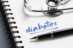 diabetes imágenes de archivo libres de regalías