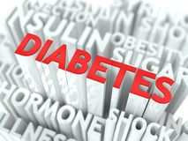 Diabetes Background Conceptual Design. Stock Photo