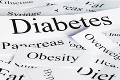 Diabetes Concept Royalty Free Stock Photography