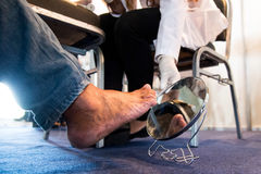 Diabetes foot Royalty Free Stock Images