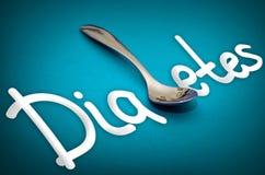 Diabetes - health hazard metaphor Stock Photography